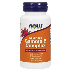 Now foods advanced gamma e complex softgels - 60 ea