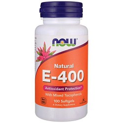 NowFoods natural E-400 softgels - 100 ea