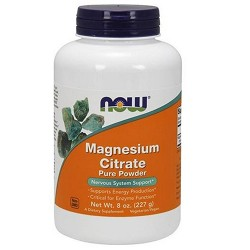 NowFoods magnesium citrate pure powder - 8 oz