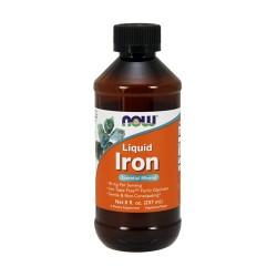 Now foods liquid iron - 8 oz