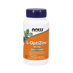 Now foods now, l-optizinc 30 mg caps - 100 ea
