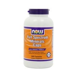 Now foods full spectrum mineral capsules - 240 ea