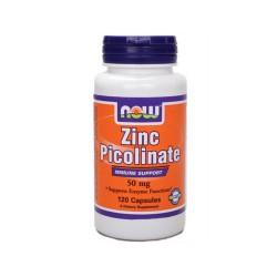 Now foods zinc picolinate 50mg 120 caps - 120 ea