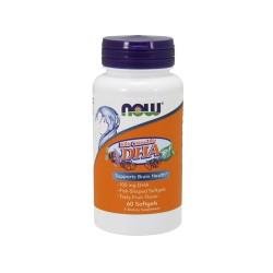 Now foods dha 100 mg kid's chewable softgels - 60 ea