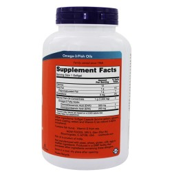Now foods dha 500 mg softgels - 180 ea