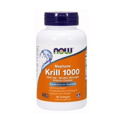 Now foods neptune krill oil 1000mg ,  softgels - 60 ea