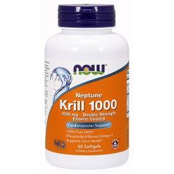 Now foods, neptune krill 1000, 1000 mg, softgels - 120 ea