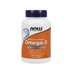 Now foods omega-3 1000 mg softgels - 100 ea