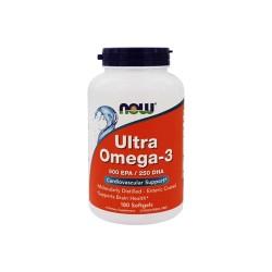 Now foods ultra omega 3 softgels -180 ea