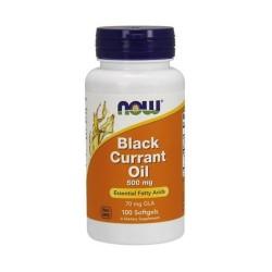 Now foods black currant oil 500mg softgel - 100 ea