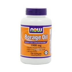 Now foods borage oil 1000 mg softgels,  softgels -120 ea