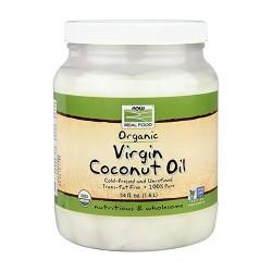 Now foods organic virgin coconut oil - 54 oz
