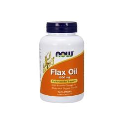 Now foods flax oil 1000 mg softgels - 100 ea