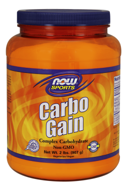 Now foods carbo gain - 2 lbs