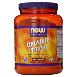 Now sport eggwhite protein powder, rich chocolate - 1.5 lb