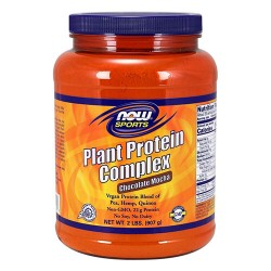 Now foods, plant protein complex, chocolate mocha - 32 oz