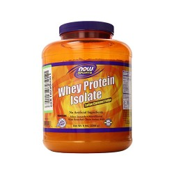 Now foods sports toffee caramel fudge whey protein isolate - 5 lb