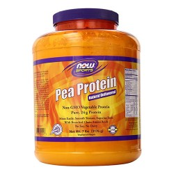 Now foods pea protein natural unflavored powder - 7 lb