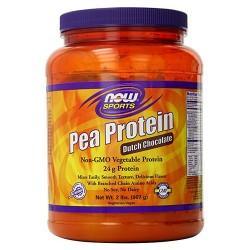 Now foods pea protein dutch chocolate powder - 2lb