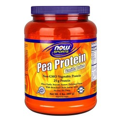 Now foods pea protein vanilla toffee powder - 2 lb