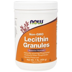 Now foods non-gmo lecithin granules - 2 lb