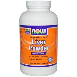 Now foods, liver powder - 12 oz