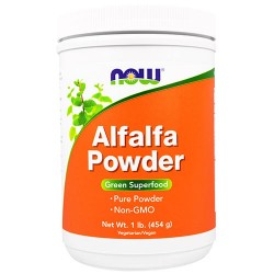 Now foods, alfalfa powder - 16 oz