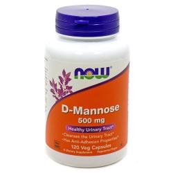Now foods, d-mannose, 500 mg veggie capsule - 120 ea