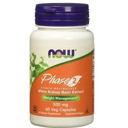 Now Foods phase 2 500 mg veg capsules - 60 ea