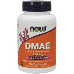 Nowfoods DMAE 250 mg for brain function veg capsules - 100 ea
