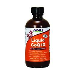 Now Foods CoQ10 liquid cardiovascular health - 4 oz