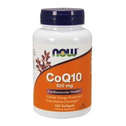 Now Foods CoQ10 100 mg cardiovascular health, softgels - 150 ea