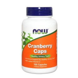 Now Foods Cranberry Caps healthy urinary tract, capsules - 100 ea