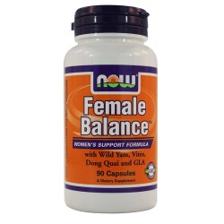Now Foods female balance womens support formula, capsules - 90 ea