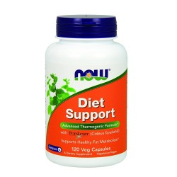 Now Foods diet support advanced thermogenic formula, veg capsules - 120 ea
