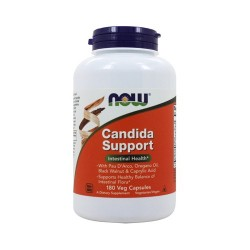 Now foods candida support vegetarian capsules - 180 ea
