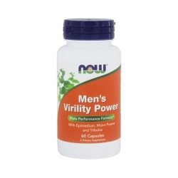 Now foods men's virility power capsules - 60 ea