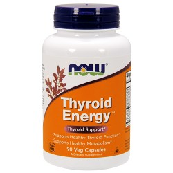 Nowfoods thyroid energy veg capsules - 90 ea