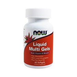 Now foods liquid multi gels softgels - 60 ea