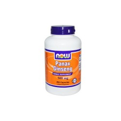 Now foods panax ginseng capsules - 250 ea