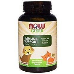 Now Foods immune support chewables for dogs and cats - 90 ea