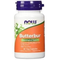Now Foods butterbur veg capsules - 60 ea