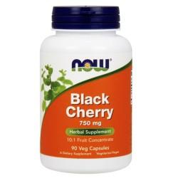 Now Foods black cherry 750 mg veg capsules - 90 ea