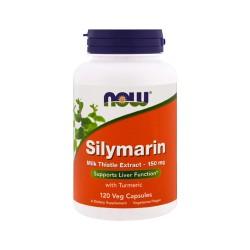 Nowfoods Silymarin milk thistle extract 150 mg veg capsules - 120 ea