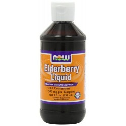Now Foods elderberry liquid - 8 oz