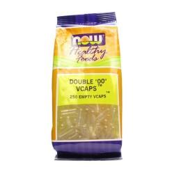 """Nowfoods double """"00"""" empty V Capsules - 250 ea"""
