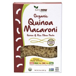 Now Foods organic quinoa macaroni gluten-free - 8 oz
