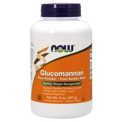 Nowfoods Glucomannan pure powder for healthy weight - 8 oz