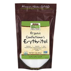 Now Foods organic confectioner's erythritol powder - 16 oz