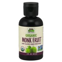 Now Foods organic monk fruit liquid sweetener - 2 oz